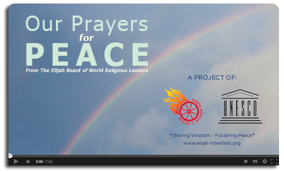 Elijah Leaders and Scholars Contribute to World Peace Day