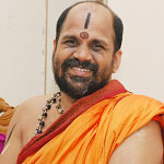 His Holiness Sri Sri Sugunendra Theertha Swamiji, India