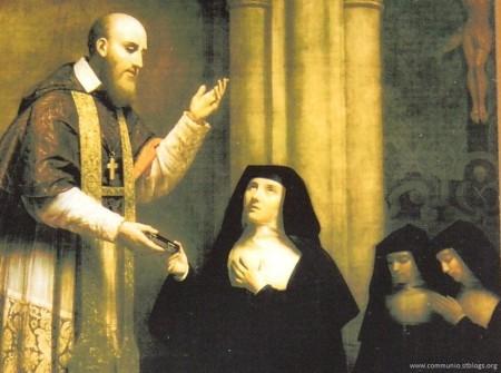 St. Francis de Sales and Jane de Chantal
